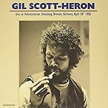 Kulturzentrum Schauburg Bremen Germany April 18 19 - GIL SCOTT-HERON [2x LP]