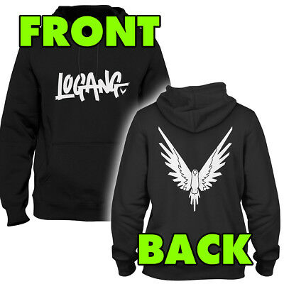 Kids Logang Hoodie (EAGLE BACK) - Jake & Paul & Logan - Youtubers Logan