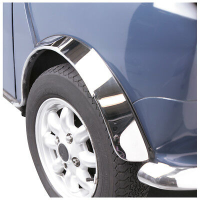 Classic Mini Stainless Wheel Arch Cover Set (4) Gac8449X