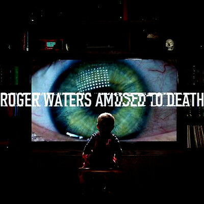 Roger Waters Amused To Death Audiophile 200gr 2 x LP Vinyls Mint Unplayed