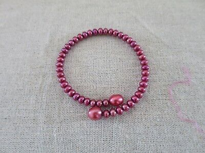 Honora Collection Red Pearl Bangle