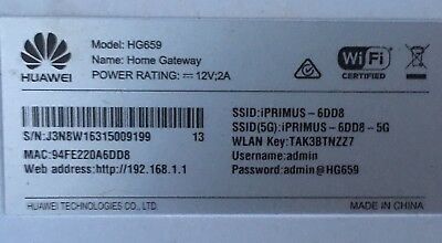 Huawei HG659 Wireless Router