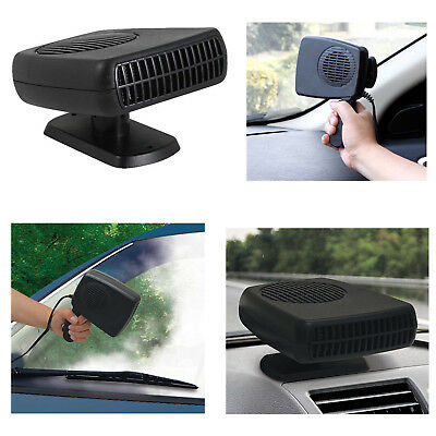 12V 3 in 1 Car Van Fan Heater Window Winscreen Defroster Demister With Handle BR