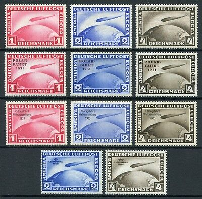 Alemania - air- Year: 1928 - number 00035/42C - Zeppelins / Game complete