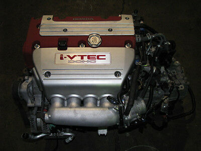 JDM Honda K20A Type R Engine and 6 Speed Transmission CL7 Euro R iVTEC TSX