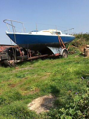 Newbridge Corribee 21ft PROJECT with trailer