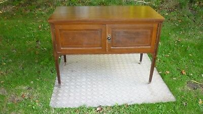 antique mahogany cupboard / small sideboard