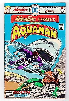 Adventure Comics Aquaman #444 [Apr 1976] DC Comics / Gerry Conway  FN- (5.5)