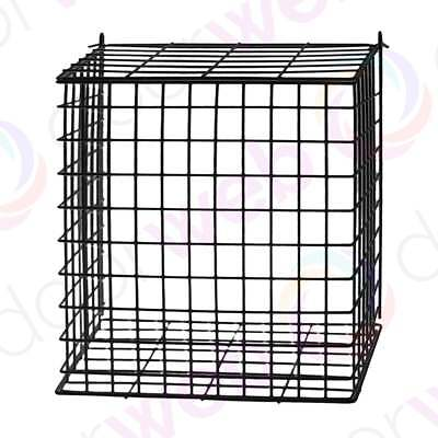 LETTERBOX CAGE BLACK Extra Large Letter Post Mail Box Door Catcher Guard Basket