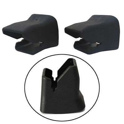 ISOFIX Baby Fixed Safety Groove Car Buckle Universal Guide Black 2pcs Child Seat