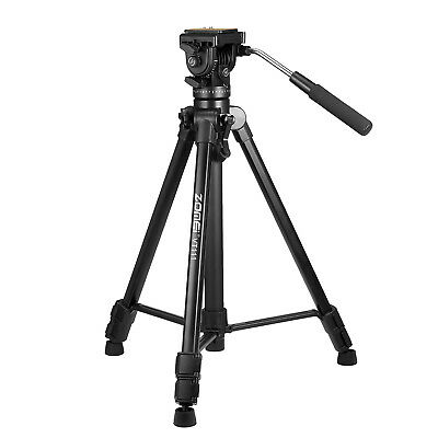 ZOMEI VT111 Professional Fluid Head Tripod Portable For DSLR Camera Camcorder DV