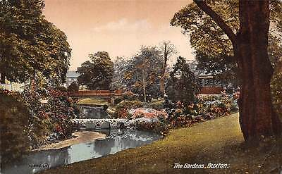 Buxton The Gardens Bridge Pont Jardins