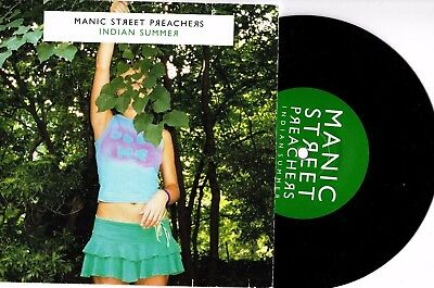 "Manic Street Preachers - Indian Summer / You Know It's Going 7"" Vinyl Record"