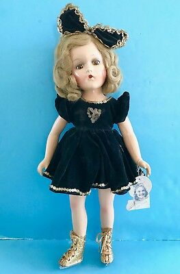 Vintage Madame Alexander Composition Sonja Henie Doll in TAGGED Dress Ice Skates