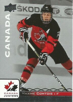 Maxime Comtois #50 - 2017 Team Canada Juniors - Base Men