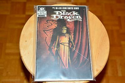 The Black Dragon #1-6 complete set (Epic -1985) - VF+ to NM-
