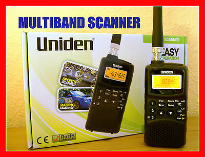 Radio Scanner Multibande Pompiers Police Radio Avion + Instructions Françaises !