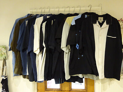 collection of vintage western shirts rock and roll