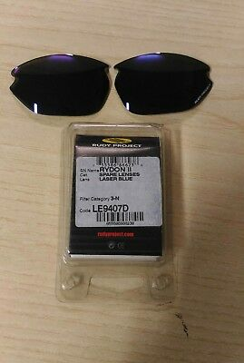 rudy project laser blue Rydon II spare lenses LE9407D