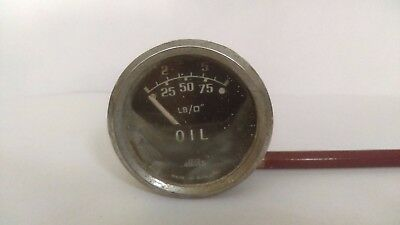 British Jaeger PL 2303/00 oil pressure gauge, Sunbeam Alpine II/2 etc