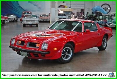 1975 Pontiac Firebird  1975 Pontiac Trans Am 400ci V8 / 4 speed / 57k actual miles
