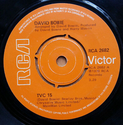 DAVID BOWIE TVC 15 7'' Single (1976) RCA2682