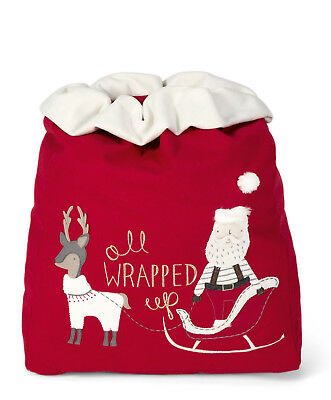 Mamas & Papas All Wrapped Up Toy Sack Supersize - Father Christmas