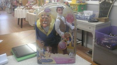 Beauty and The Beast Disney Barbie Doll Beast to Prince Royal Costume