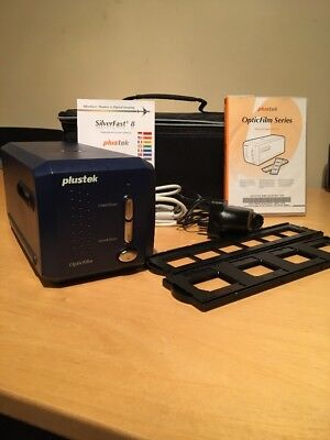 Plustek OpticFilm 8100 Photo, Slide & Film Scanner