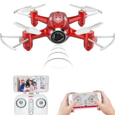 SYMA X8HW WIFI FPV Real Time RC Drone Altitude Hold Quadcopter Headless US Stock