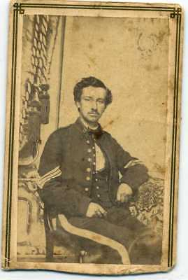 Civil War CDV- Soldier- Sargent