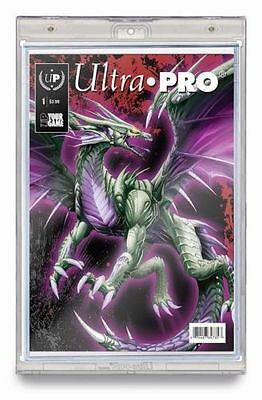 Lot of 6 Ultra Pro One Touch Magnetic Current Size UV Comic Book Holder Display