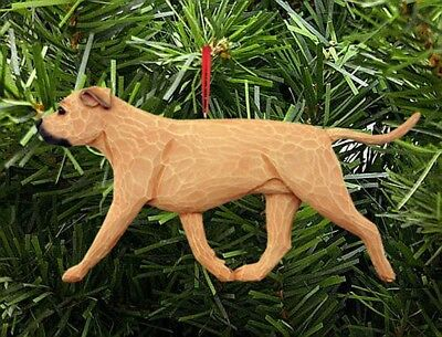 American Staffordshire Terrier Ornament Fawn
