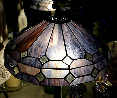 Tiffany Style Lead light  Shade Table Lamp