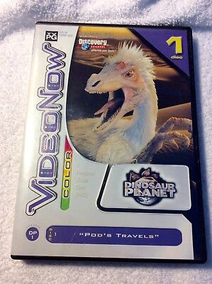 Dinosaur Planet Pod's Travels Video Disc PVD W/Case for VideoNow COLOR Player