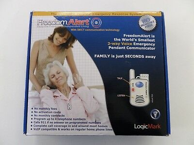Logicmark Freedom Alert Personal Emergency Response System Dialer 35911 New Open