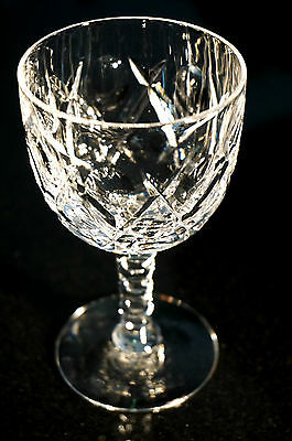Beautiful Stuart Crystal Dessert Wine Glasses