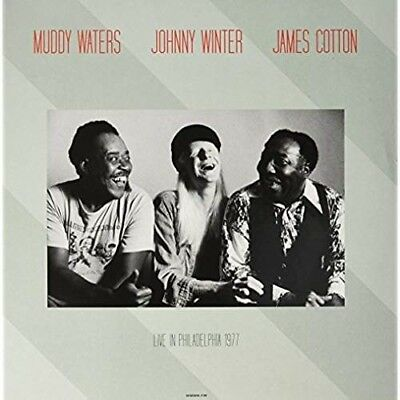 Live At Tower Theatre Philadelphia March 6 1977 - MUDDY WATERS & JOHNNY WINTER [