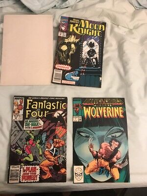 Lot Of Three Marvel Comics (read DESC)