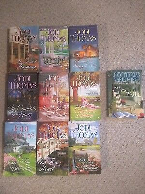 Complete series Jodi Thomas Harmony novels *** ten books