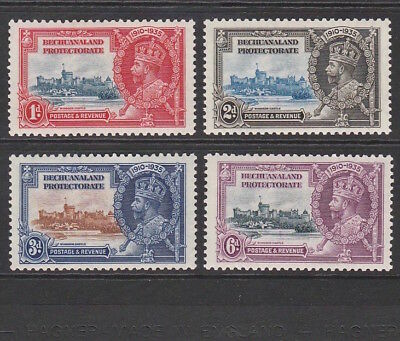 Bechuanaland Protectorate 1935 Set Of King George V Silver Jubilee Stamps Mint