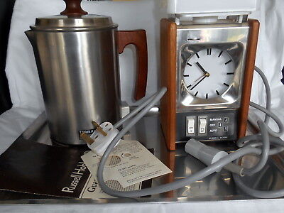 Russell Hobbs Model 6501 Automatic Tea Maker in Polystyrene Box - Stuck Clock
