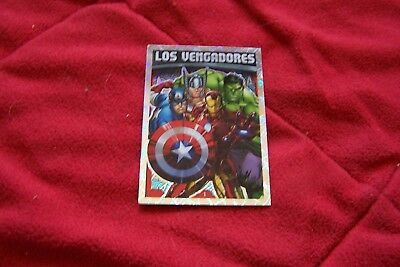 5 Cromos Avengers Hero Attax