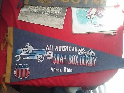 Pennant All American Soap Box Derby AKron, Ohio