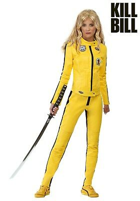 WOMEN'S BEATRIX KIDDO KILL BILL COSTUME Size XS, S, M and XL (with defect)