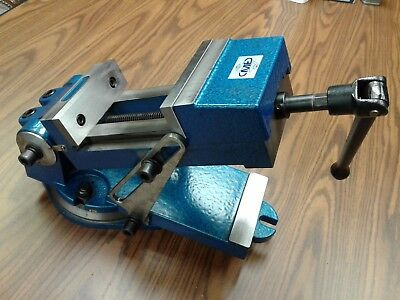 """6"""" sine vise, angle vise heavy duty w. swivel base,6-1/2"""" opening 850-QZX160-new"""