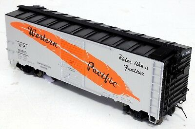 InterMountain 40 Ft Boxcar - Western Pacific - O Scale, 2-rail