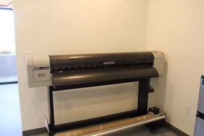 """Mutoh Value Jet VJ 1324 54"""" wide format solvent printer less than 3 years old"""