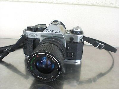 Ancien Appareil Photo Canon Ae1 Program Vintage Ae-1 Photographie