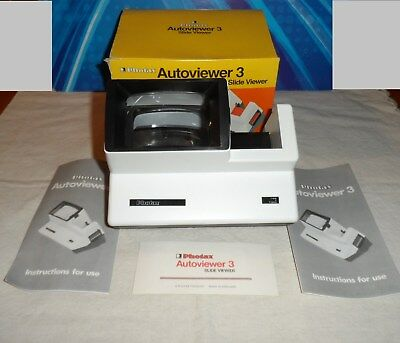 "VISORE PER DIAPOSITIVE ""AUTOVIEWER 3""-PHOTAX-made in England"